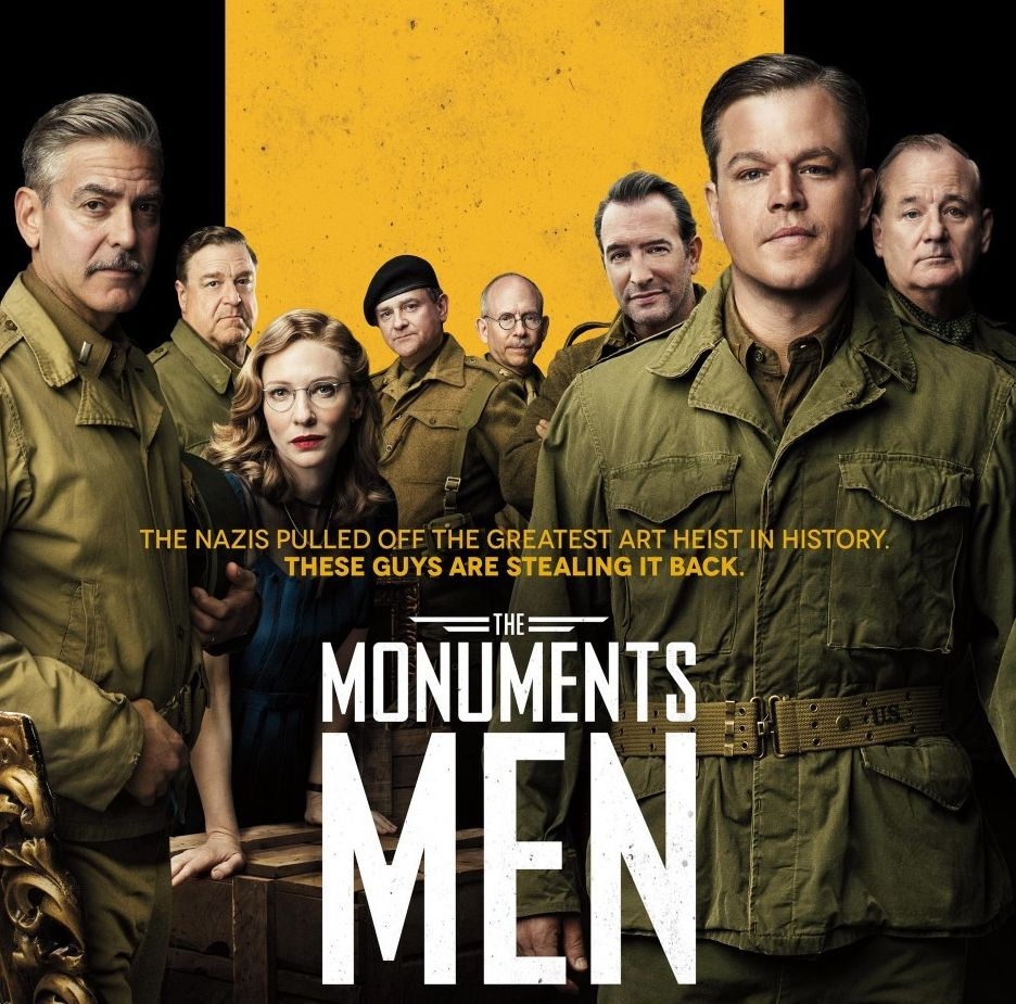 MONUMENTS MEN: AN INTERESTING STORY THAT DESERVED A MUCH MUCH BETTER ...